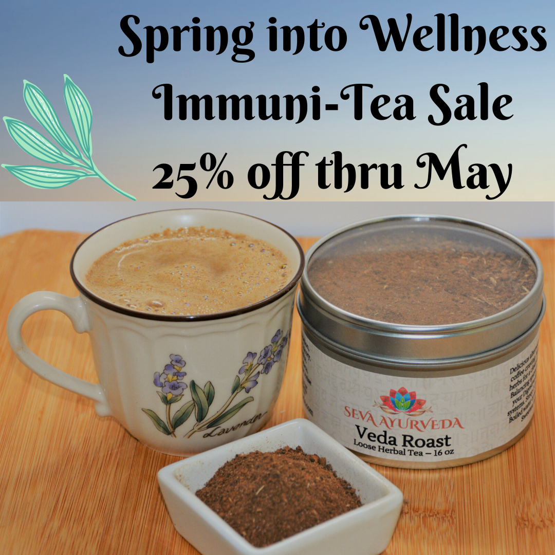 Spring into Wellness Tea Sale 25% off thru April