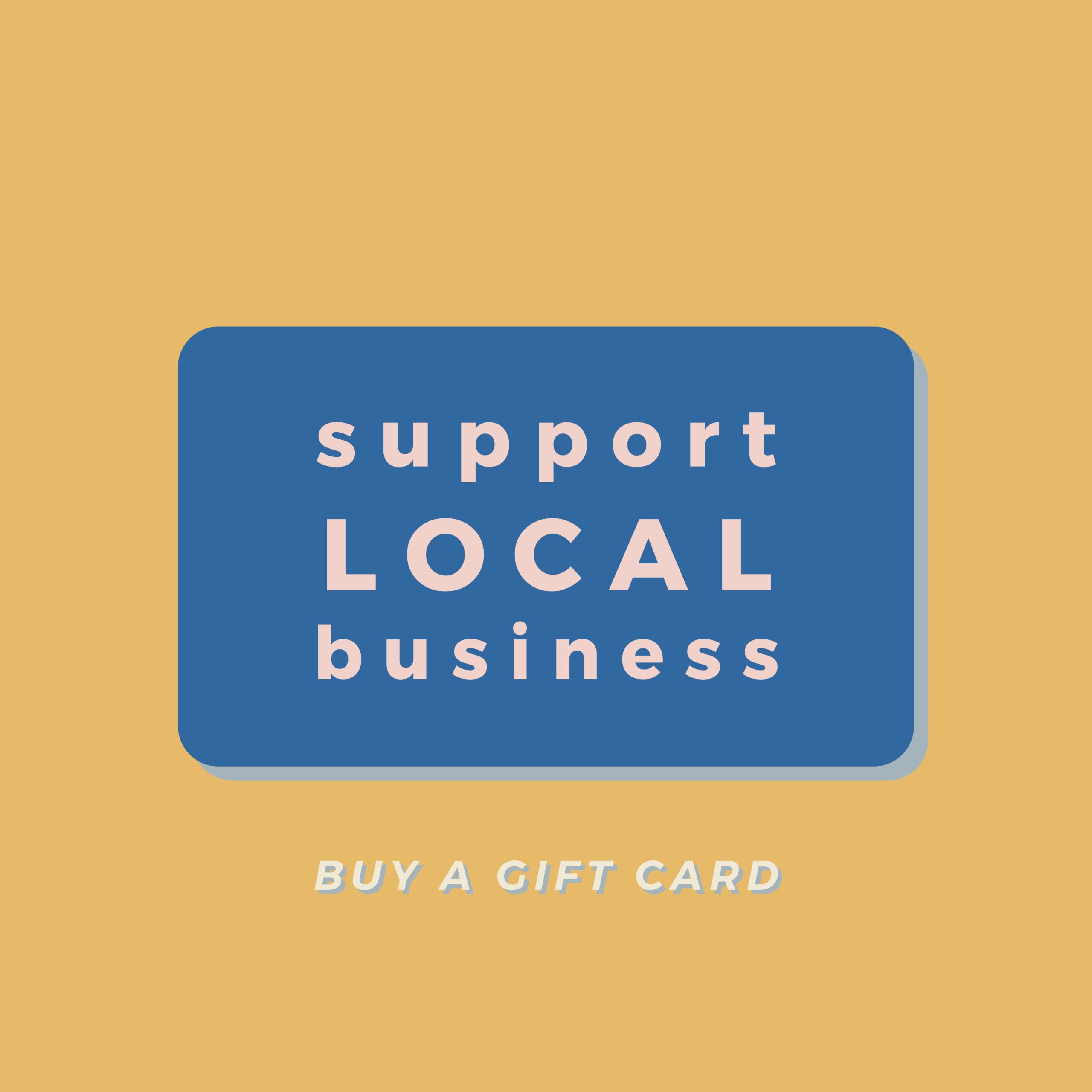 Support Local Business Utah Gift Card